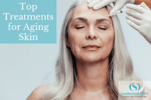Woman Receiving An Anti-aging Treatment At Cumberland Skin